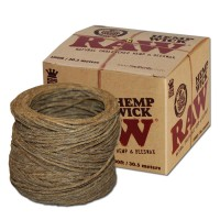 Фитиль из конопли «RAW Hemp Wick in a Bundle» фото-2